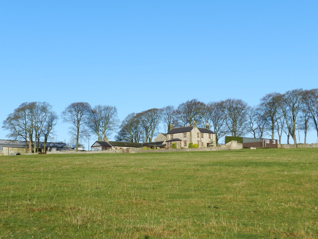 New Close Farm in winter