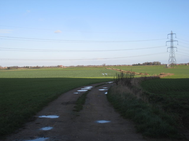 Track to Eggborough Ings