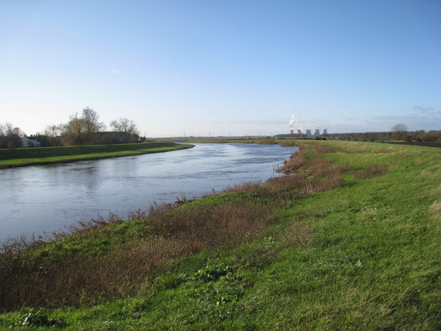 The River Aire at Beal