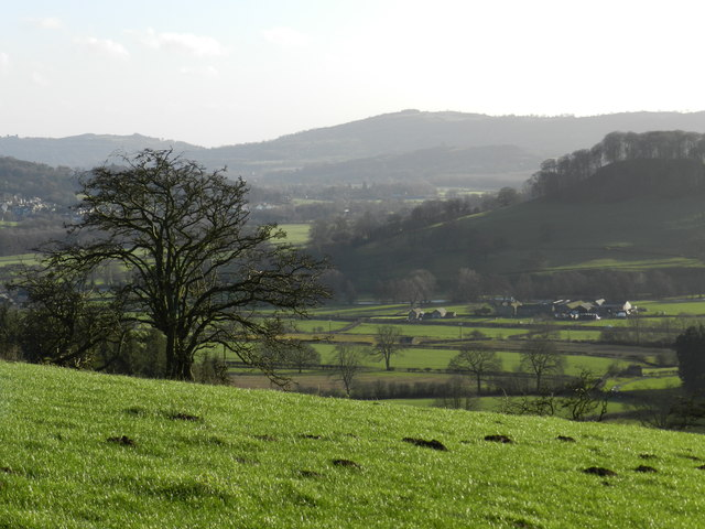 Wye valley, looking south east
