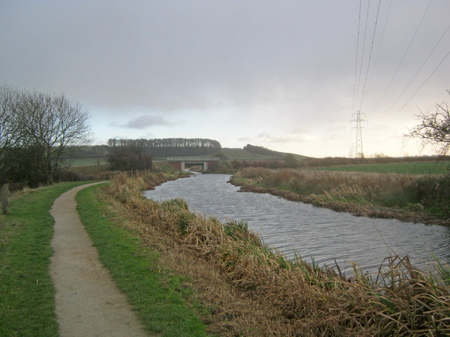 Grantham Canal at Casthorpe Bridge