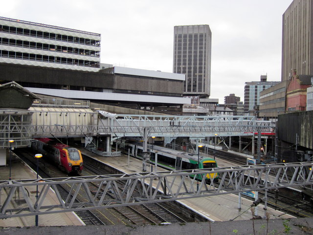Birmingham New Street Station Redevelopment - Footbridge Now Replaced