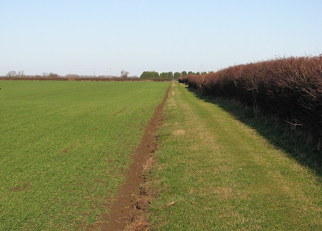 Path from Bottisham to Lode and Long Meadow