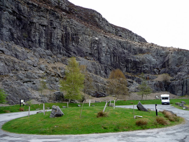 Parking Area near Caban Coch Dam, Elan Valley