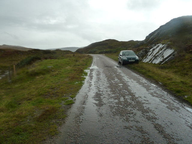 A884 looking west