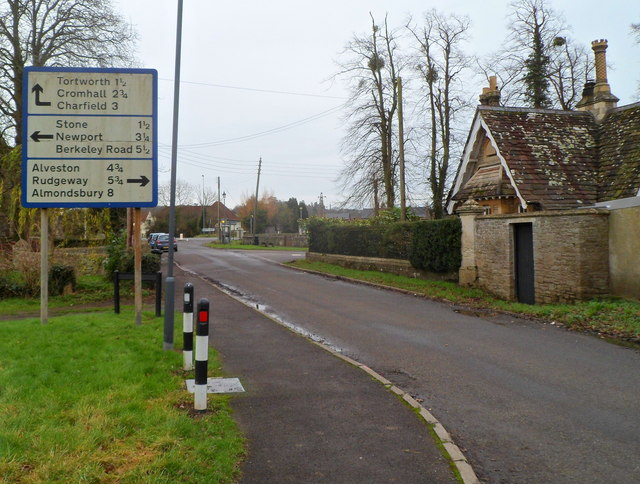Large sign, Sundayshill Lane, Falfield