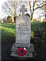 TA1375 : The War Memorial at St Peter's, Reighton by Ian S