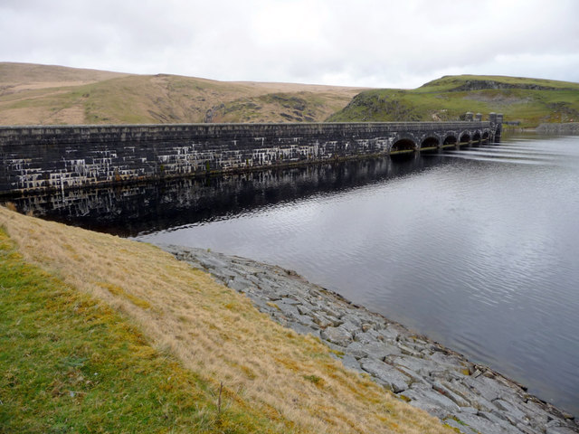 Claerwen Reservoir, Elan Valley, Mid-Wales