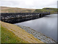 SN8763 : Claerwen Reservoir, Elan Valley, Mid-Wales by Christine Matthews