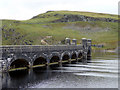 SN8763 : Claerwen Reservoir and Dam, Elan Valley, Mid-Wales by Christine Matthews