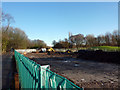 SJ8092 : Metrolink construction site near Rifle Road, Sale by Phil Champion