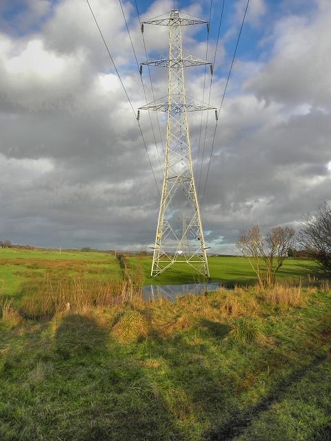 Pylons, Radcliffe Moor