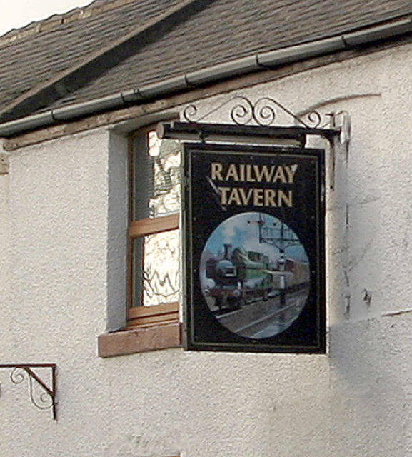 Railway Tavern sign, Hensall