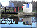 SE6119 : Cabin at Pollington Swing Bridge by Alan Murray-Rust