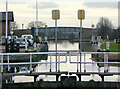 SE6119 : Pollington Lock (9) by Alan Murray-Rust
