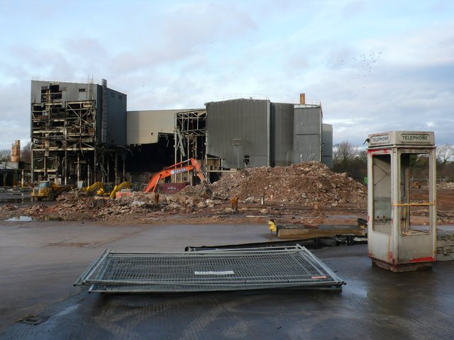 Demolition of the Ford Foundry