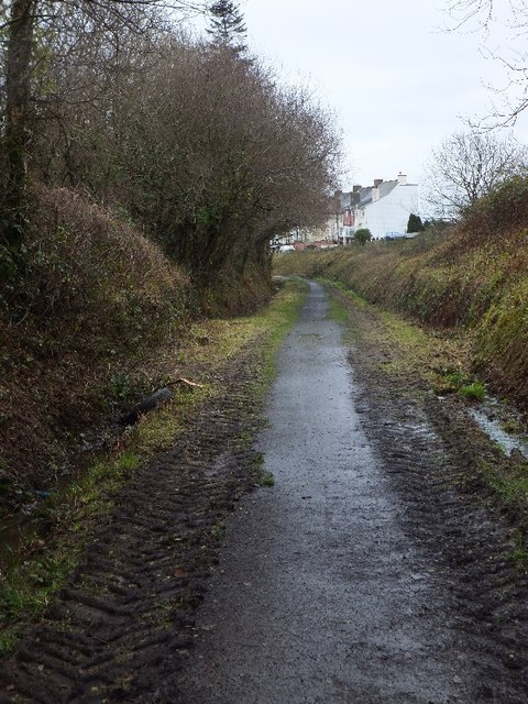 Tarka Trail approaching East Yarde