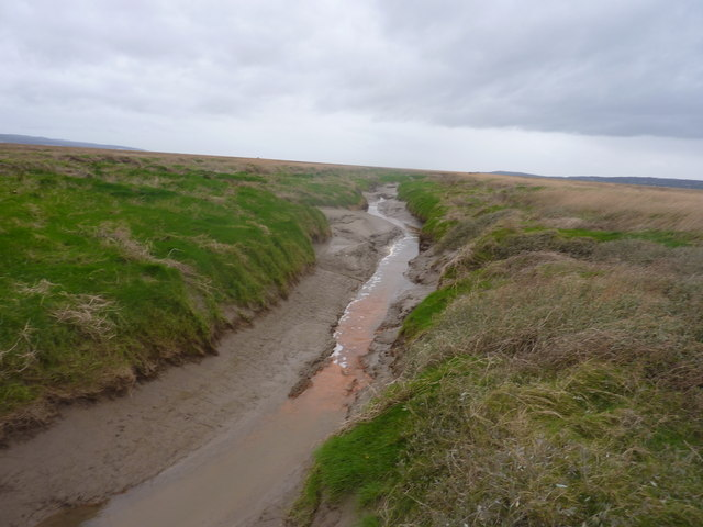 An impassable channel in the marsh