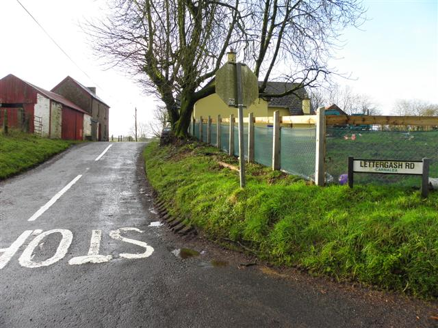 Lettergash Road, Carnlea