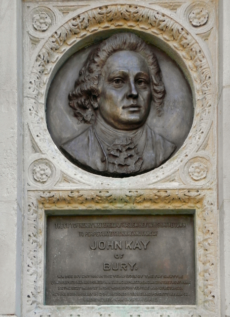 Kay Monument  - Relief Portrait