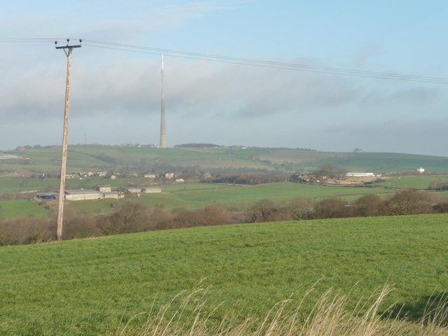 View north from Cumberworth Lane
