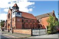 SJ7055 : Baptist Church, Union Street, Crewe by Douglas Cumming