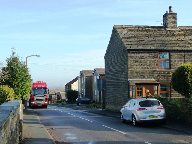Parked vehicles, Cumberworth Lane