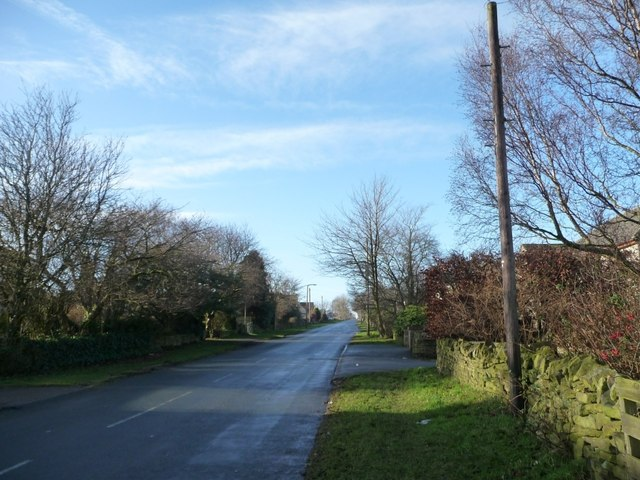 Carr Hill Road, looking west