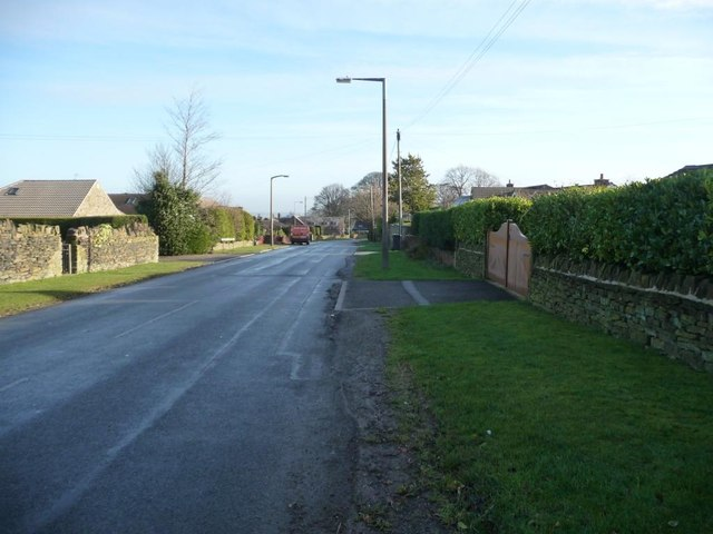 Carr Hill Road, looking east