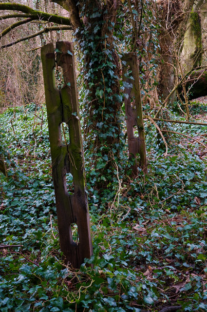 Fence Posts, Cowbridge & Aberthaw Railway