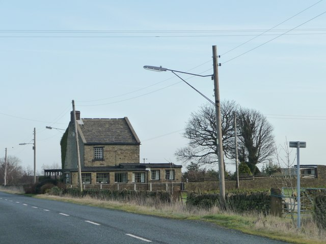 Much extended house, Denby Lane