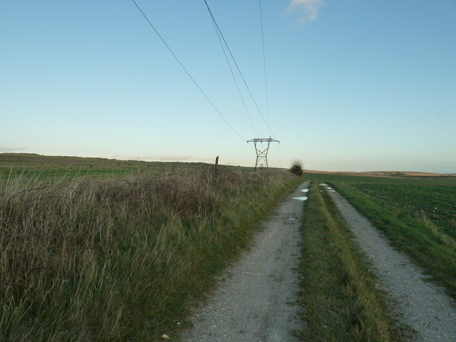 Short pylon on the Sussex Border Path