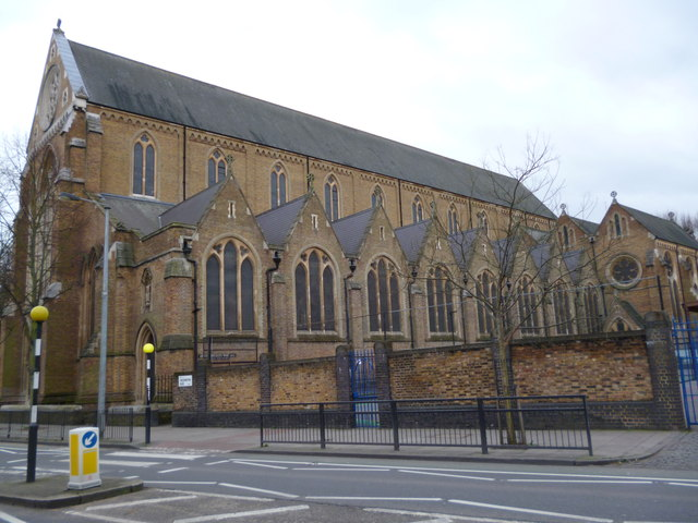 St Dominic's Church and School playground, Southampton Road NW5