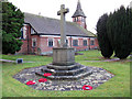 SJ6269 : Whitegate war memorial by Stephen Craven