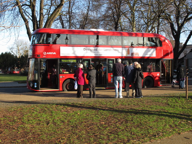"""New Bus for London"" on show in Ealing"