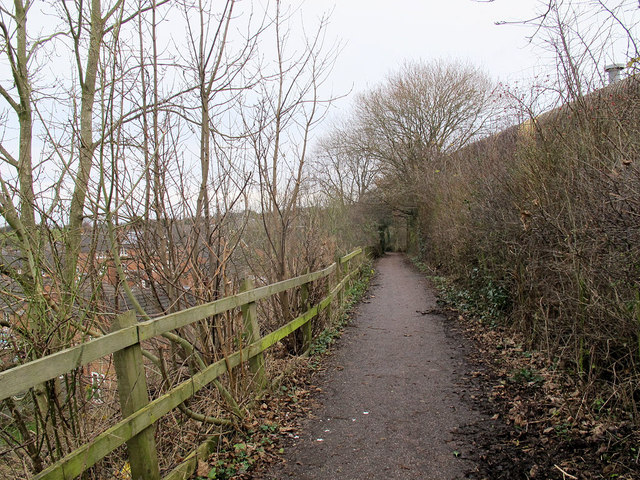 Middlewood Way bypass path