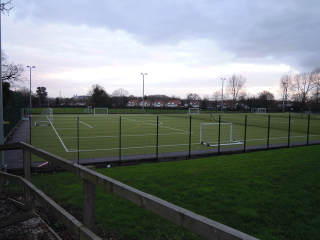 Sports Ground at Lode Heath School