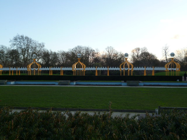 The Tea Terrace, Battersea Park SW11
