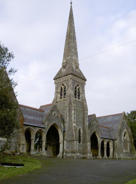 Locksbrook Cemetery chapel
