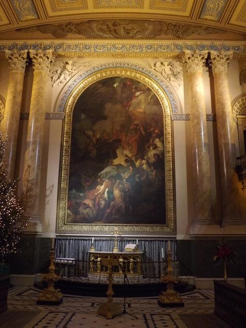 Altar, Greenwich Chapel