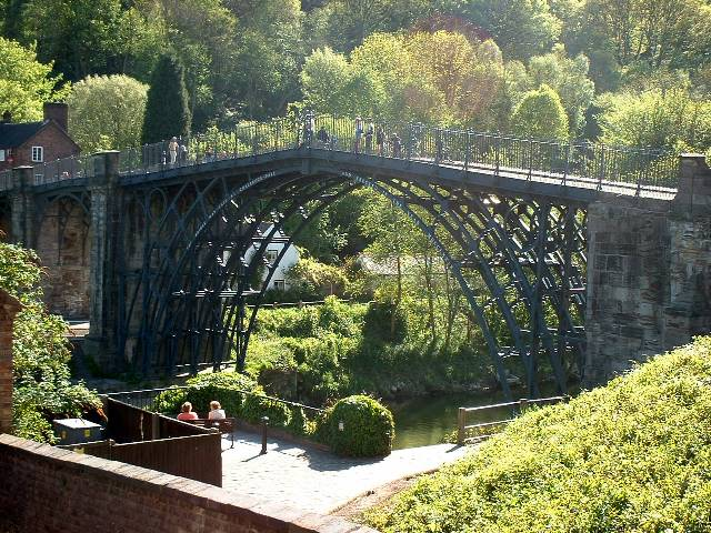 The Ironbridge - Downstream elevation