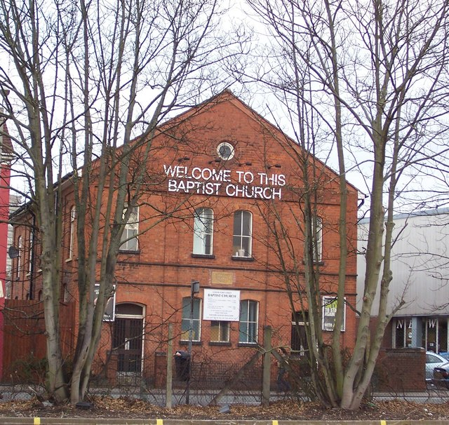 Lower Ford Street Baptist Church, Coventry