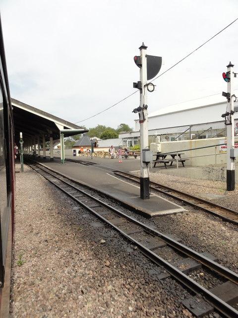 RH&DR New Romney railway station