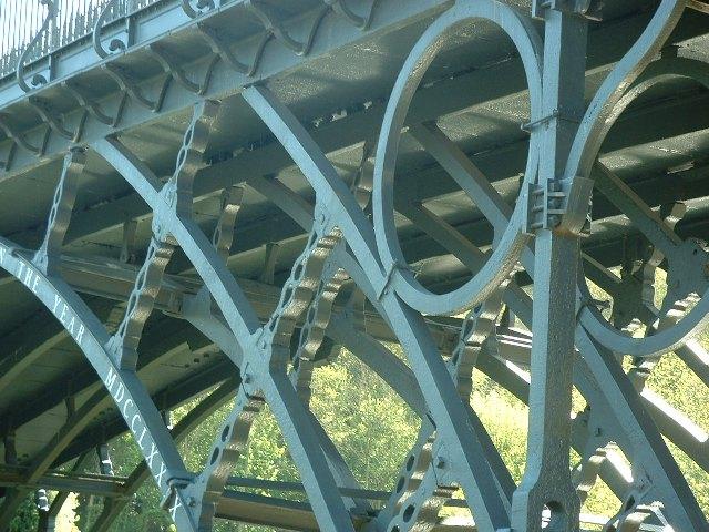 Details of the Ironbridge