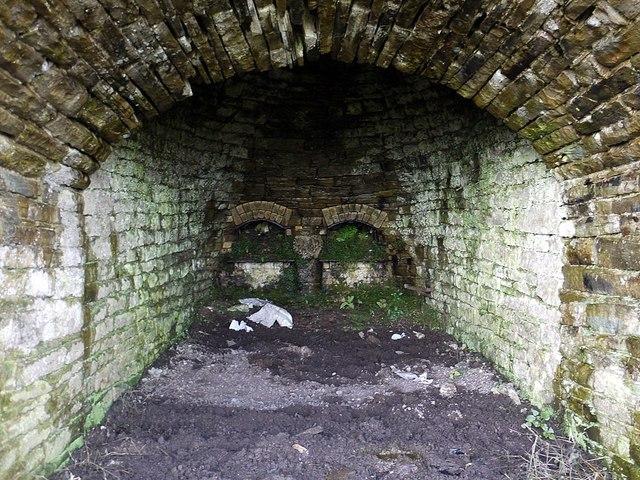 Foresthead Quarry lime kilns (detail)