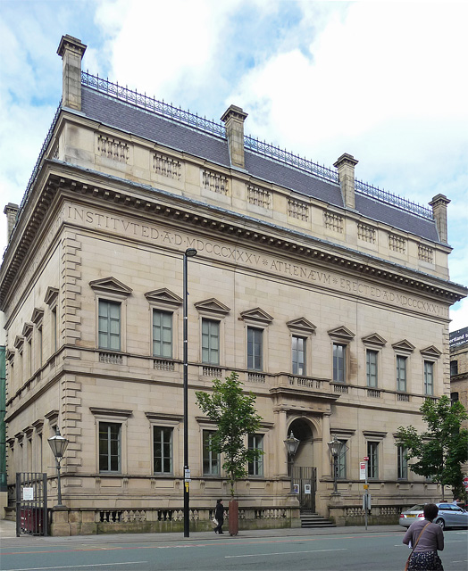 Former Athenaeum, Princess Street, Manchester