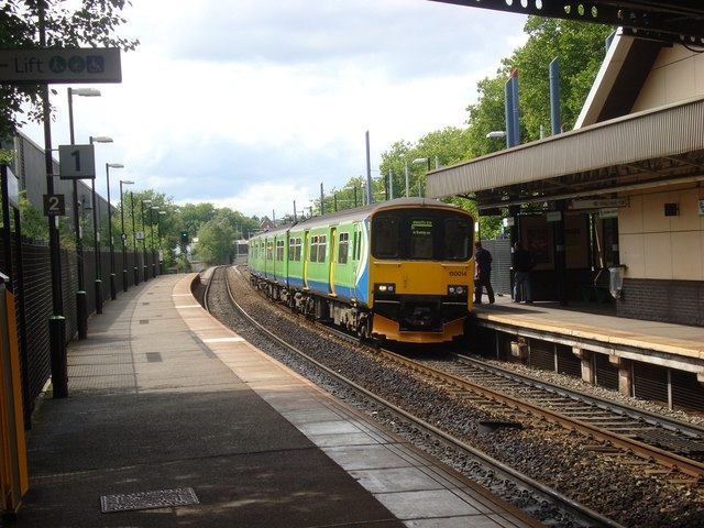 Class 150 at Jewellery Quarter