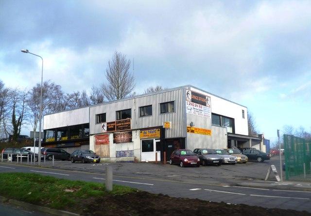 Multi-use building near Walton Bridge