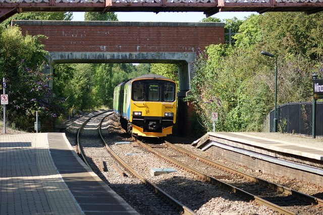 Class 150 at Wilmcote