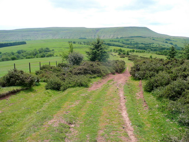 View over Hay Bluff